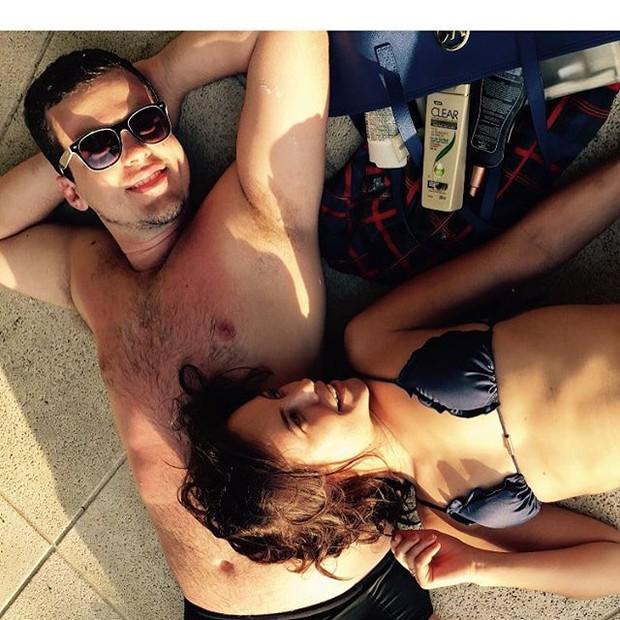 Paolla Oliveira posa de biquíni (Foto: Instagram/ Reprodução)