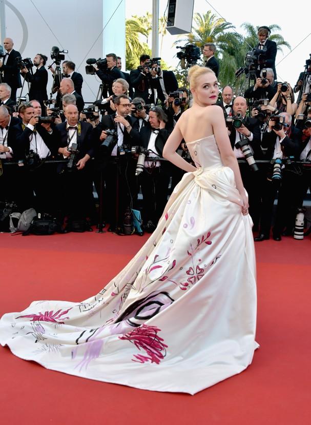 Elle Fanning no Festival de Cannes 2017 (Foto: Getty Images)