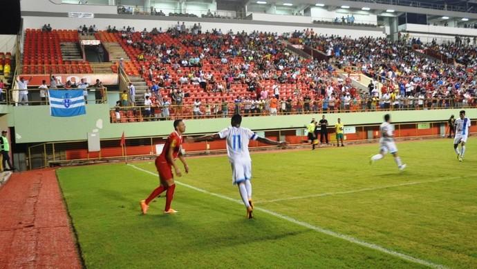 Rio Branco-AC x Paysandu Copa Verde 2016 gol Fabinho (Foto: Duaine Rodrigues)