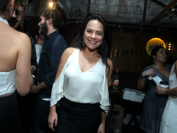 Vivianne Pasmanter em festa na Zona Oeste do Rio (Foto: Marcello Sá Barretto/ Ag. News)