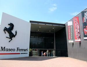 Museo Ferrari em Maranello (Foto: Divulgação/Ferrari)