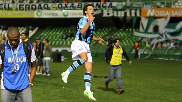 Coritiba x Grêmio pela Copa Sul-Americana (Foto: Lucas Uebel / Grêmio, DVG)