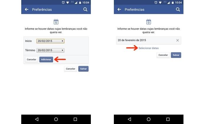 Dia que será pulado nas lembranças do Facebook definido (Foto: Reprodução/Raquel Freire)