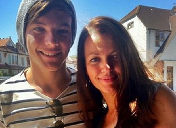 Louis Tomlinson e a mãe, Johannah Deakin (Foto: Reprodução)