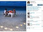Neymar posta imagem romântica no Instagram e faz mistério