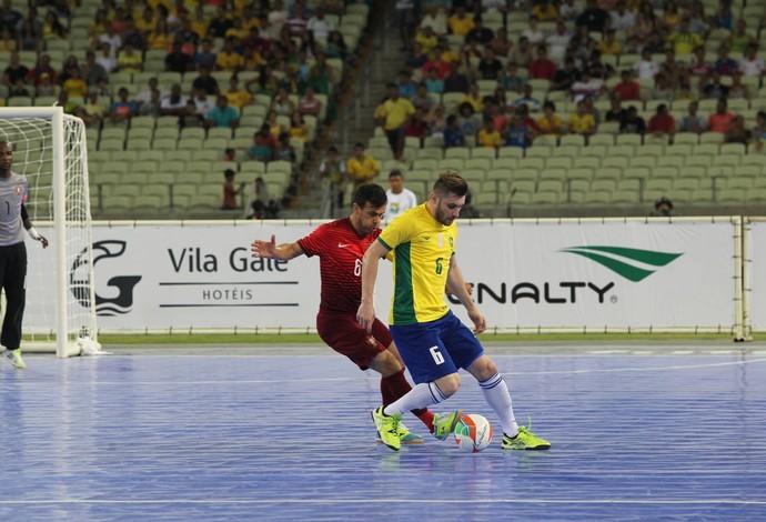 Gadeia Brasil Portugal futsal (Foto: Zerosa Filho/CBFS)