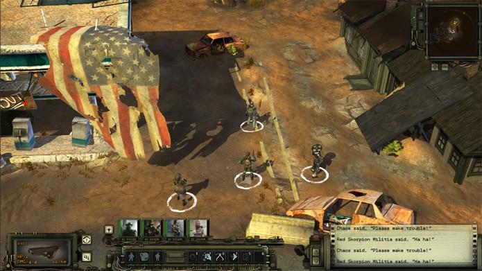 Os jogadores terão que explorar as ruínas da atual civilização, enquanto enfrentam robôs, animais selvagens e rebeldes (Foto: Divulgação/inXile Entertainment)