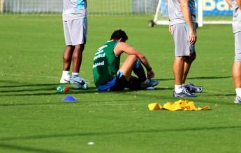 Atração contra o VEC, Giuliano usará palmilha especial após lesão no pé