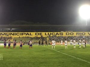 Luverdense, Bahia, Passo das Emas (Foto: Assessoria/Bahia Esporte Clube)