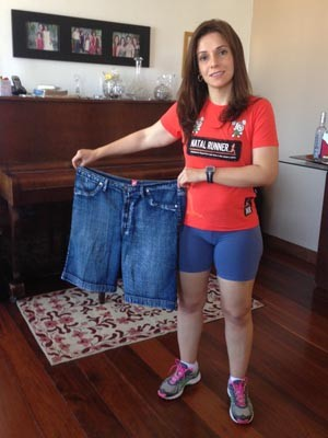 Juliana perdeu 17 Kg em nove meses (Foto: Arquivo pessoal)