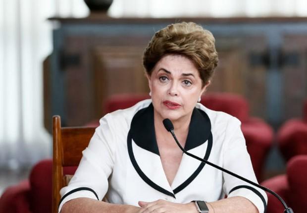 Dilma Rousseff concede entrevista às agências internacionais (Foto: Roberto Stuckert Filho/PR)