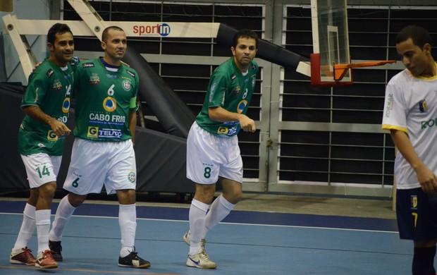 ADDP/Cabo Frio não deu chances ao Botafogo (Foto: Léo Borges)