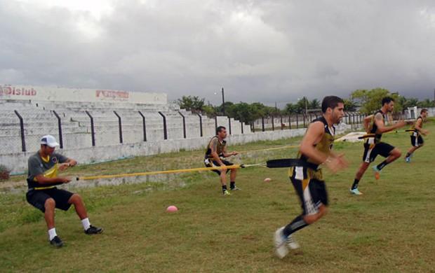 Treino do Botafogo-PB na Maravilha do Contorno (Foto: Divulgação / Botafogo-PB)