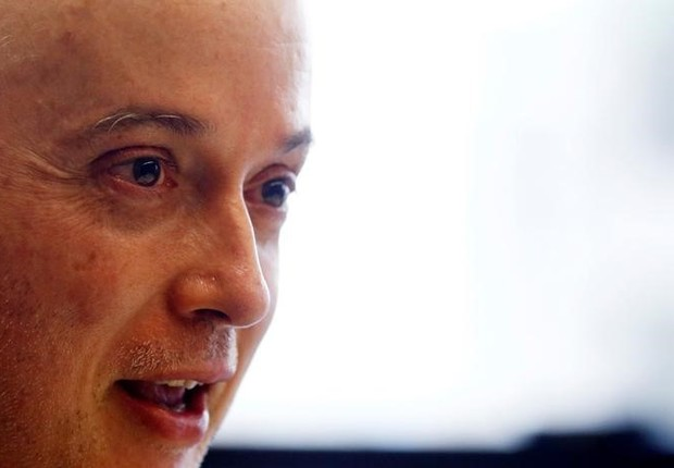 Procurador Carlos Fernando dos Santos Lima em entrevista para a Reuters, em Curitiba (Foto: Rodolfo Buhrer/Reuters)