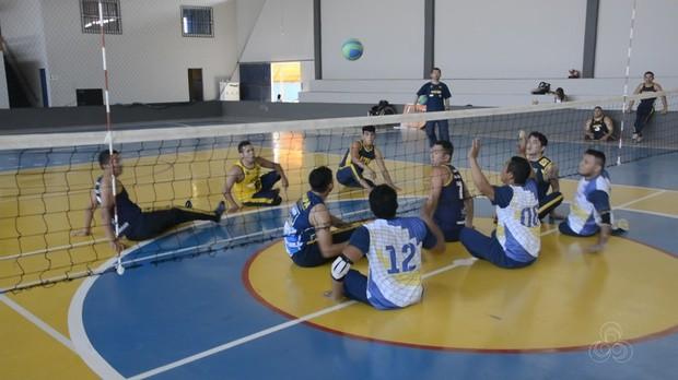 torneio, vôlei sentado, amapá, bom dia amazônia (Foto: Bom Dia Amazônia)