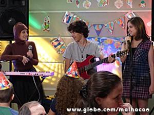 Giovana, Clara e Guilherme fazem sucesso (Foto: Malhação / TV Globo)