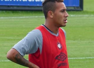 Gustavo Marmentini Atlético-PR (Foto: Monique Silva)