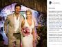 Beto Malfacini faz homenagem à Aryane em aniversário de casamento