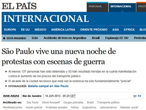 el país (Foto: Reprodução/ El País)
