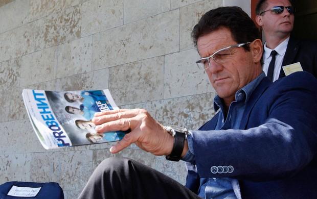 fabio capello treinador da rússia (Foto: Agência Reuters)