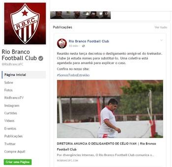 Rio Branco-AC demissão Célio Ivan (Foto: Duaine Rodrigues)