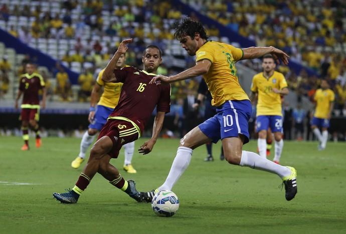 Kaká Brasil Venezuela (Foto: Leo Correia / Mowa Press)