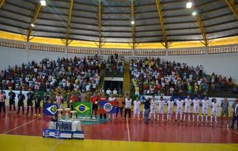 Semifinais da Copa Centro América de Futsal serão disputadas neste sábado