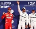 Hamilton: pole histórica em Spa