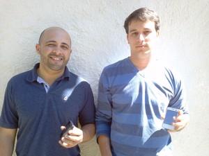 Heitor Oliveira e Breno Delgado de Petrópolis (Foto: Divulgação/Arquivo Pessoal)