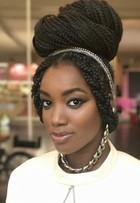 Iza fez alisamento por 11 anos: 'Hoje me orgulho do meu cabelo pixaim'