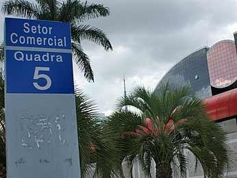 Setor Comercial Norte (Foto: Vianey Bentes/TV Globo)