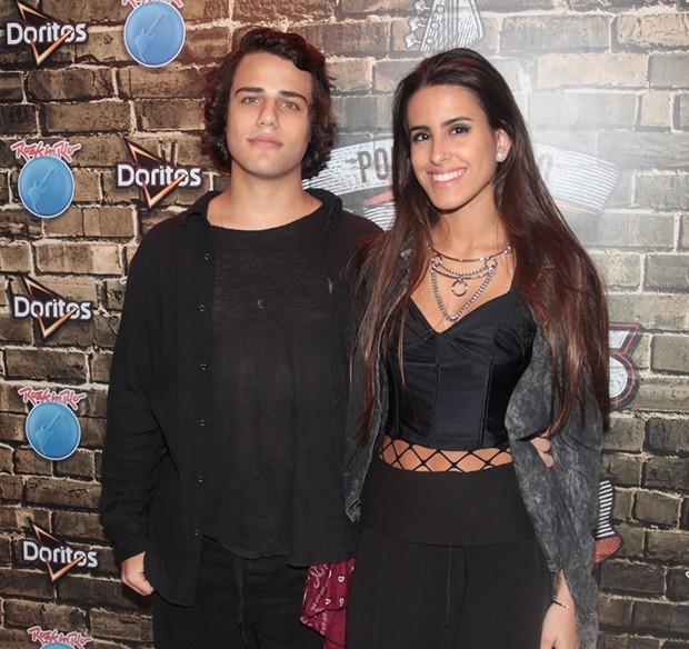 Ana Morais e o namorado, Luis Guilherme (Foto: Sergio Gallo/ QUEM)