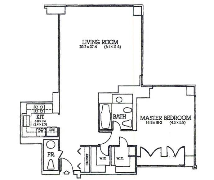 Planta apartamento Jose Maria Marin em Nova York (Foto: Reprodução)