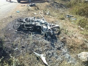 Acidente aconteceu na TO-164 próximo a Jacilândia (Foto: Divulgação)