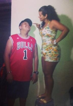 Branka Silva com o filho Pablo (Foto: Reprodução/Instagram)