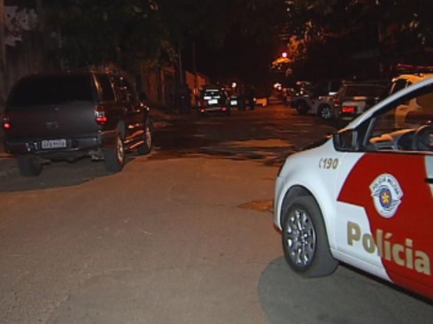 Policial Militar é morto durante tiroteio  (Foto: Reprodução / TV TEM)