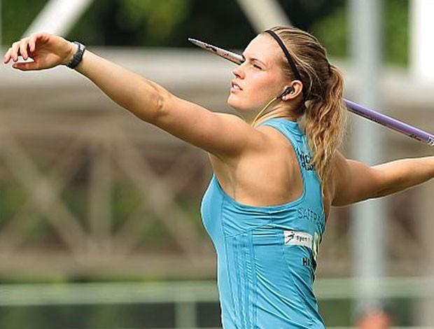 Asdis Hjalmsdottir atleta Islândia (Foto: Cbat)