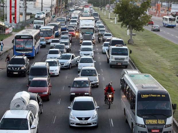 IPVA Belém Trânsito BR-316 (Foto: Agência Pará)