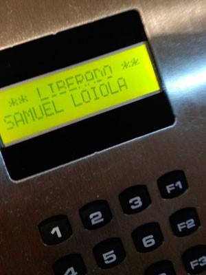 Estudante contou que nome foi alterado para 'Samuel Loiola' após reclamação (Foto: (Foto: Samuel Nascimento de Oliveira Neto/Arquivo pessoal))