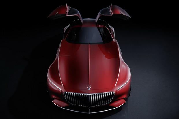 Mercedes-Maybach Vision 6 frontal (Foto: Reprodução)