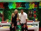 Hulk comemora aniversário dos filhos com festa: 'Meus príncipes'