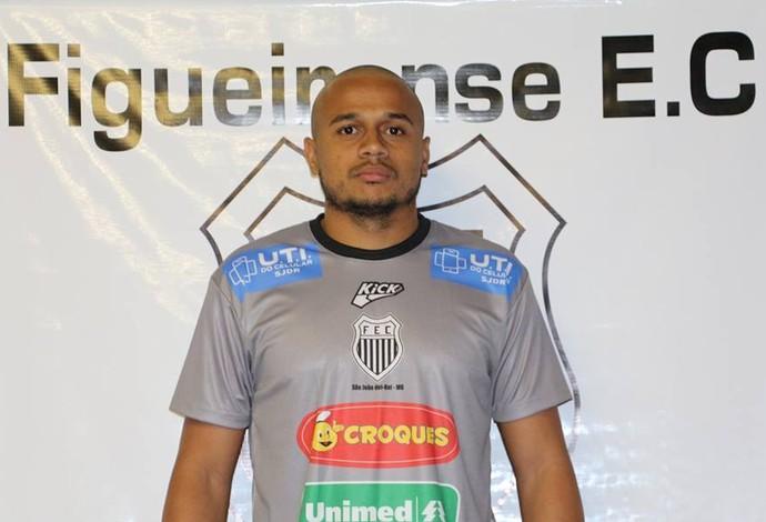 Felipe Capixaba atacante Figueirense-MG (Foto: Figueirense/Divulgação)