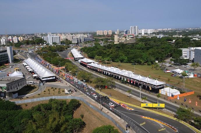 Salvador recebeu sete provas da Stock Car desde 2009 (Foto: Duda Bairros / Divulgação )