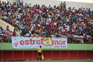 Torcida do Rio Branco compareceu em peso na Arena da Floresta (Foto: João Paulo Maia)
