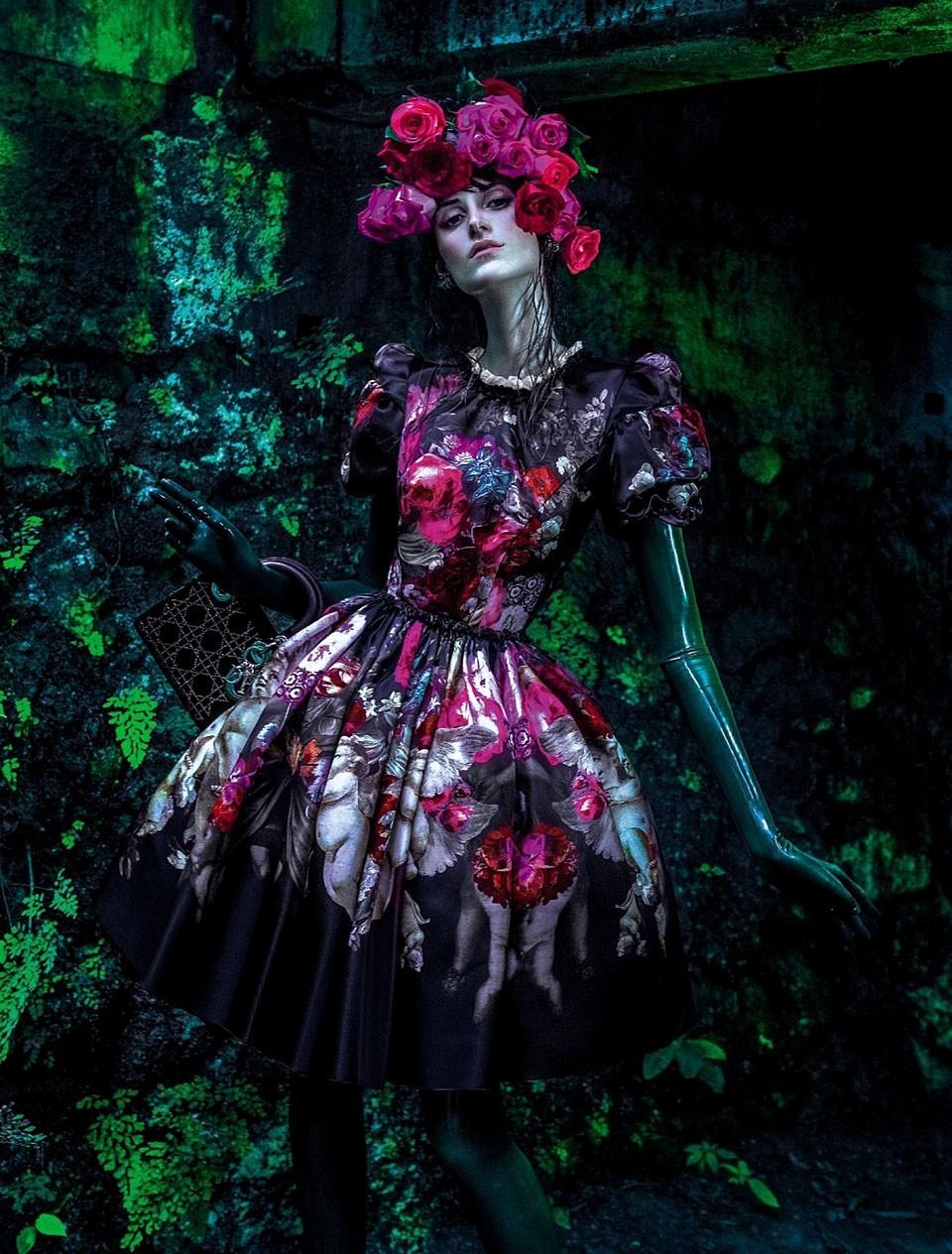 Daiane Conterato by Zee Nunes para Vogue Brasil de abril de 2013 (Foto: Arquivo Vogue)