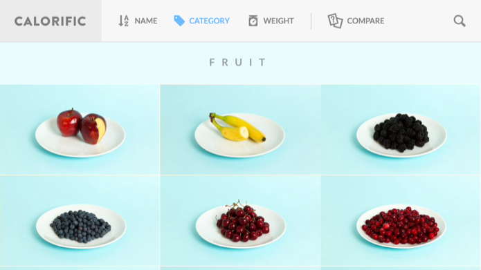 Alimentos classificados por categoria (Foto: Reprodução/Helito Bijora)
