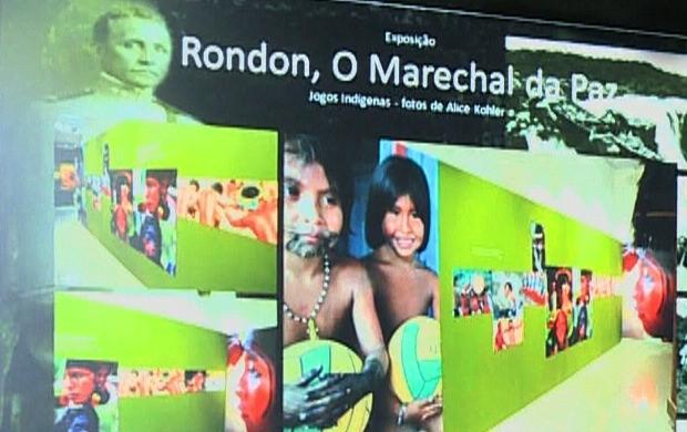 Exército apresenta projeto 'Memorial Rondon' em Porto Velho, (Foto: Rondônia TV)