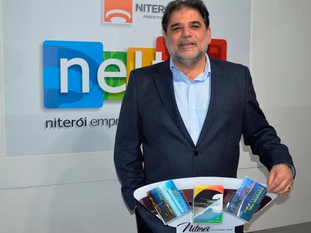 Presidente da Neltur, José Haddad, está otmista com investimento na cidade para os jogos (Foto: Alexandre Vieira / Divulgação Prefeitura Niterói)