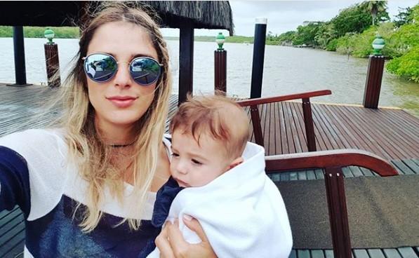 Rafa e Rocco curtindo a Bahia (Foto: Reprodução/ Instagram)