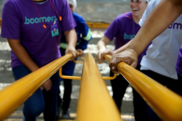 Boomera trabalha na reutilização de resíduos junto com grandes empresas (Foto: Divulgação)
